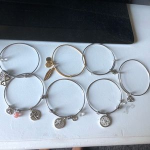 Alex and Ani Bracelet Bundle
